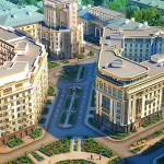 1,4 млн квадратов жилья построено в Петербурге за полгода